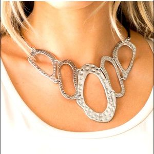 Prime Prowess - Silver Necklace